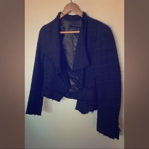 Zara Tweed Cropped Blazer / Jacket